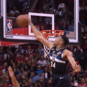 Giannis with the chasedown block on Harden! https://t.co/nHCmM0LD3A: SPALDING  34 Giannis with the chasedown block on Harden! https://t.co/nHCmM0LD3A