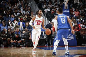 Memes, Ford, and Rose: SPALDING  BuksaN  13  PISTONS  25  r  nk  SPALDING  Ford  SYSTEM  adas 🌹Derrick Rose with 18 PTS (8-12 FG) & 5 AST off the bench in the Pistons win.   https://t.co/VUyxfo8JxA