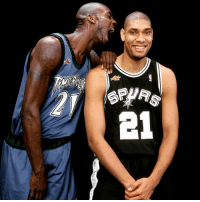 FBF: Kevin Garnett and Tim Duncan in the year 2000: SPAWAR  B1 FBF: Kevin Garnett and Tim Duncan in the year 2000