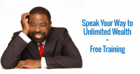 """Come join me for a free training online where you'll learn to... Speak Your Way to Unlimited Wealth.  ➨ Nov 3, 3 pm EST ➨ Click Here ➨ http://teamles.co/2fbCdKY  Why?  You know, for over 40 years, I've been speaking to audiences all over the world. When I get off the stage, I have a chance to speak with so many other speakers who have heard that over my career, I've made more than 60 million dollars speaking.  They ask me, """"Les, how do you do it? I'd like to make a living as a speaker like you do. Can you give me any advice?""""  And now I've seen so many comments on my social media posts asking the same thing. Well I've thought about it a lot and here's what I'd like to do.  Using the power of technology, I'd like to offer a Free Training on How to Speak Your Way to unlimited wealth. It's a training I've refined over the years that has helped many speakers develop successful careers.  On November 3rd I'll be on video offering a free live training where you can learn some of my secrets that have helped me and many others make a living telling our story.  ➨ Nov 3, 3 pm EST ➨ Link: http://teamles.co/2fbCdKY  You will learn...  ➨ How to find your power voice ➨ How to target a niche with the people who want to hear your story ➨ How to get the audience's attention and hold it ➨ The keys to an effective speech  Just enter your information to register for the free training and reserve your spot. The training I charge thousands for always fills up so I know this one will so please register now. You won't want to miss it.  You learn, then you earn, then you pass it on. And I can't wait to show you some love up in here, up in here.  That's my story and I'm sticking to it.  ➨ Nov 3, 3 pm EST ➨ Link: http://teamles.co/2fbCdKY: Speak Your Way to  Unlimited Wealth  Free Training Come join me for a free training online where you'll learn to... Speak Your Way to Unlimited Wealth.  ➨ Nov 3, 3 pm EST ➨ Click Here ➨ http://teamles.co/2fbCdKY  Why?  You know, for over 40 years, I've been """