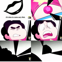 Memes, Pink, and Time: SPECIA  It's time to come out, Pink.  SPECI  SPEC this made me cringe so hard stevenuniverse diamondauthority cartoonnetwork