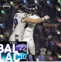 Lexus, Memes, and Ravens: SPECIAL  İENS  ENS  FINAL  10 FINAL: The @Ravens improve to 9-6! #RavensFlock #BALvsLAC  (by @Lexus) https://t.co/w5wbFya8yH