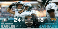 Philadelphia Eagles, Lexus, and Memes: SPECIAL  PHILADELPHIA  JACKSONVILLE  EAGLES'  FINAL\ . JAGUARS FINAL: The @Eagles WIN in London! 🇬🇧 #FlyEaglesFly (by @Lexus) https://t.co/G8Mg8tk5lb