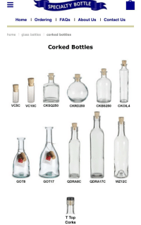 "Amazon, Money, and News: SPECIALTY BOTTLE  Home Ordering FAQs I About Us Contact Us  home glass bottles corked bottles  Corked Bottles  VC5C VC10C  CKSQ250  CKRD250  CKBS250 CKOIL4  GOT8  GOT17  QDRABC  QDRA17C  WZ12C  T Top  Corks <p><a href=""https://spookymulde-r.tumblr.com/post/171522369565/i-dont-know-how-many-tumblr-witches-know-this"" class=""tumblr_blog"">spookymulde-r</a>:</p><blockquote> <p>I don't know how many tumblr witches know, this could be old news, but I found that this is the best place to get jars/bottles to feed my obsession! They have a bunch of different colors, but most of them are clear. They have different shapes and such, and they're very very cheap, even the jugs !! In their FAQ they said it's fine to even order just 1 bottle at a time, even though most people order a bunch at once. It's honestly the best deal on high quality bottles and jars that I've found so far! I would honestly skip Amazon and go straight here. 10/10!</p> <a href=""https://www.specialtybottle.com"">https://www.specialtybottle.com</a> </blockquote><p>skip amazon!!! don't give your money to evil corporations!!!</p>"