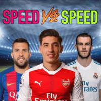 Memes, Neymar, and Best: SPEED SPEED  ly  rates  Fly Speed Battle: When Pace meets Pace ⚡️ Which speed battle was best? 1 - Robben Vs Bellerin 2 - Neymar Vs Bellerin 3 - Bale Vs Alba 4 - Bellerin Vs Pedro 5 - Salah Vs Alba 6 - Neymar Vs Messi 7 - Bellerin Vs Neymar • 🎧 Wide Awake - Ready • Full credit to @90minfootball for the caption + video structure layout and idea ❤️ • worldie golasso golazos footballskill soccerskill footballskills soccerskills speed bestsoccerskills bestfootballplayer bestsoccerplayer
