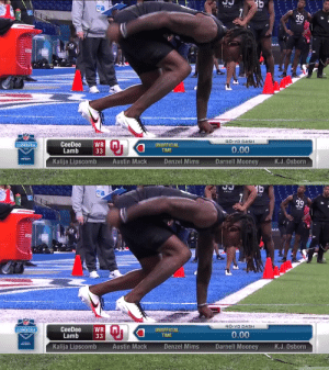 Speedy CeeDee.  @OU_Football WR CeeDee Lamb runs a 4.51u 40-yard dash! @_CeeDeeThree  📺: #NFLCombine on @NFLNetwork https://t.co/bmeiuOiql1: Speedy CeeDee.  @OU_Football WR CeeDee Lamb runs a 4.51u 40-yard dash! @_CeeDeeThree  📺: #NFLCombine on @NFLNetwork https://t.co/bmeiuOiql1