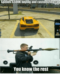 GTA problems 🙄 - New follower? Welcome to my page! 😈 For some crazy killchains and sniping feeds go check out my team @RiZe_Above.All - GamingPosts CaulOfDuty Gaming Gamer Relatable Lit tzanthemchallenge Selfie Like4Like Meme Memes GamingMemes GamingMeme CallOfDuty potd codmemes PhotoOfTheDay Funny Twitter InfiniteWarfare CodIW GTA Xbox Playstation Ps4 YouTube Lmao Comedy Minecraft Like4Follow: Spends $500K buying and customizing car  You know the rest GTA problems 🙄 - New follower? Welcome to my page! 😈 For some crazy killchains and sniping feeds go check out my team @RiZe_Above.All - GamingPosts CaulOfDuty Gaming Gamer Relatable Lit tzanthemchallenge Selfie Like4Like Meme Memes GamingMemes GamingMeme CallOfDuty potd codmemes PhotoOfTheDay Funny Twitter InfiniteWarfare CodIW GTA Xbox Playstation Ps4 YouTube Lmao Comedy Minecraft Like4Follow