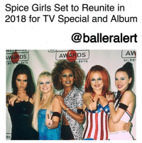 """Spice Girls Set to Reunite in 2018 for TV Special and Album-blogged by @thereal__bee ⠀⠀⠀⠀⠀⠀⠀⠀⠀ ⠀⠀ According to TheSun, the 90s pop group Spice Girls are set to reunite in 2018 for a TV special and compilation album. ⠀⠀⠀⠀⠀⠀⠀⠀⠀ ⠀⠀ The reunion has been in talks since MelC and VictoriaBeckham received a previous revival bid. ⠀⠀⠀⠀⠀⠀⠀⠀⠀ ⠀⠀ Sources have confirmed that the plans are in effect. An insider said: """"The five of them have been locked in secret talks since the summer, and finally they are all on-board for a 2018 reunion. ⠀⠀⠀⠀⠀⠀⠀⠀⠀ ⠀⠀ """"As it stands, they will be working together on a series of projects, which will include an album and a TV special celebrating the Spice Girls. ⠀⠀⠀⠀⠀⠀⠀⠀⠀ ⠀⠀ """"And getting Victoria to agree has been a coup for everyone involved, given she has always been the person holding back on a reunion."""": Spice Girls Set to Reunite in  2018 for TV Special and Album  @balleralert  AV  見せてね  おい·見せ!  Rtta  せてね  DEO Spice Girls Set to Reunite in 2018 for TV Special and Album-blogged by @thereal__bee ⠀⠀⠀⠀⠀⠀⠀⠀⠀ ⠀⠀ According to TheSun, the 90s pop group Spice Girls are set to reunite in 2018 for a TV special and compilation album. ⠀⠀⠀⠀⠀⠀⠀⠀⠀ ⠀⠀ The reunion has been in talks since MelC and VictoriaBeckham received a previous revival bid. ⠀⠀⠀⠀⠀⠀⠀⠀⠀ ⠀⠀ Sources have confirmed that the plans are in effect. An insider said: """"The five of them have been locked in secret talks since the summer, and finally they are all on-board for a 2018 reunion. ⠀⠀⠀⠀⠀⠀⠀⠀⠀ ⠀⠀ """"As it stands, they will be working together on a series of projects, which will include an album and a TV special celebrating the Spice Girls. ⠀⠀⠀⠀⠀⠀⠀⠀⠀ ⠀⠀ """"And getting Victoria to agree has been a coup for everyone involved, given she has always been the person holding back on a reunion."""""""