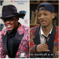 Will Smith turned his jacket inside out first. 🤷🏾♂️ #IJS https://t.co/qPPxEbPQZh: SPICEADAMS  NFL Will Smith turned his jacket inside out first. 🤷🏾♂️ #IJS https://t.co/qPPxEbPQZh