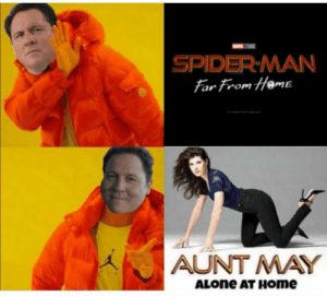 Being Alone, Home Alone, and Spider: SPIDER-MAN  far from Hame  AUNT MAY  ALONE AT HOme Home Alone ! :D