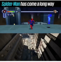 Spider, SpiderMan, and Man: Spider-Man has come along way Spider Man has come a long way https://t.co/oALW3I1NHC