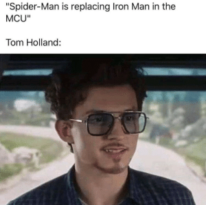 "Iron Man, Memes, and Spider: ""Spider-Man is replacing Iron Man in the  MCU""  Tom Holland: Some relaxing Christian Sunday memes"