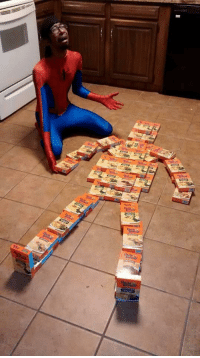 Spiderman clearly distressed after the murder of his uncle (2001): Spiderman clearly distressed after the murder of his uncle (2001)