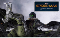 """Memes, Spider, and SpiderMan: SPIDERMAN  HomE  ominG Tom Holland on the Vulture's introduction in SPIDER-MAN: HOMECOMING: """"The first time we see the Vulture is terrifying.  It's like a horror movie: really scary, very intense and shocking."""" http://tinyurl.com/zvfm5nl  (Brian)"""