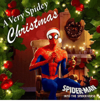 Apple, Chris Pine, and Christmas: Spidey  Very  SPIDERMAN  INTO THE SPIDER VERSE allthemarvelnews:  A Christmas EP from Spider-Man: Into the Spider-Verse will be released digitally tomorrow titled A Very Spidey Christmas. It will include 5 songs by Chris Pine, Shameik Moore, Jake Johnson, and Jorma Taccone. 1. Joy to the World – Shameik Moore (1:40)2. Spidey-Bells (A Hero's Lament) – Chris Pine (2:41)3. Deck the Halls – Jake Johnson (2:05)4. Up on the House Top – Chris Pine (1:45)5. The Night Before Christmas 1967 (Spoken Word) – Jorma Taccone (2:45) EDIT: iTunesSpotify