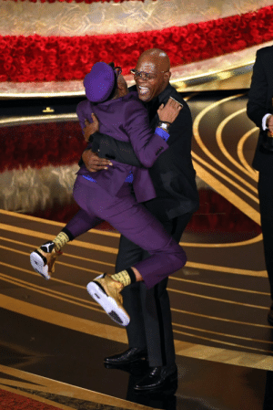 Spike Lee and Samuel L. Jackson at the 91st Academy Awards.: Spike Lee and Samuel L. Jackson at the 91st Academy Awards.