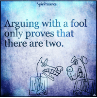 Beautiful, Love, and Memes: Spirit Science  Arguing with a fool  only proves that  there are two ⇒Love ❤️, flow 💬, serve ✨⇐ . . . . . . meditation oneness innerpeace lawofattraction blessings love inspire wisdom spiritual yogi yoga flow oneness amazing beauty earth lovequotes quotes quotestoliveby beautiful compassion spiritualawakening enlightenment nature kindness