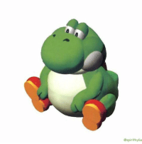 Yoshi, Good, and Girl Memes: @spirithylia rt fat yoshi for good luck this 2018 https://t.co/UkMHoU6TLS