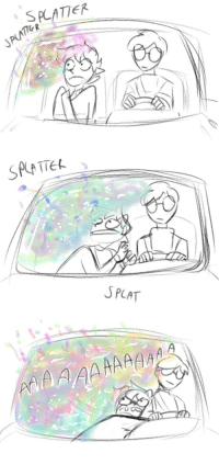 Target, Tumblr, and Blog: SPLAT awkwardiceart:  i want karkat to visit a human car wash   yes