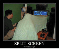 Nailed it.: SPLIT You're doing it right Nailed it.