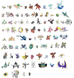 The Game, Game, and For: [SPOILER] So the entire Gen 7 dex leaked. Pretty excited for the game