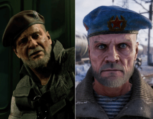 [SPOILERS AHEAD] Miller from the Metro series, and Mikhail Viktor from RE3 remake. Both led a Platoon, both are Russian. Viktor is on a train in the demo, Miller lived in a metro, and both look exactly alike ! Coincidence ? Perhaps. Was there inspiration ? Maybe. You be the judge.: [SPOILERS AHEAD] Miller from the Metro series, and Mikhail Viktor from RE3 remake. Both led a Platoon, both are Russian. Viktor is on a train in the demo, Miller lived in a metro, and both look exactly alike ! Coincidence ? Perhaps. Was there inspiration ? Maybe. You be the judge.