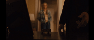 Girls, Desk, and House: [Spoilers] In Prisoners (2013), when Detective Loki finds Alex's toy trailer, he pushes it along his desk, landing right in front of his Aunt. This foreshadows what actually ends up happening. He just wanted to play with the girls in his trailer and brought them to his aunts house.