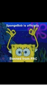 The circle game is banned: SpongeBob is officially  Banned from FROC The circle game is banned