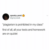 "I HATE LEAGUE WHY DOES MY AD THINK ITS A GOOD IDEA TO WALK UP AND KILL HIMSELF: spooky yomi  @greyweak  ""plagiarism is prohibited in my class""  first of all, all your tests and homework  are on quizlet I HATE LEAGUE WHY DOES MY AD THINK ITS A GOOD IDEA TO WALK UP AND KILL HIMSELF"