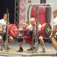 Memes, Record, and World: SPORT  andll  66kg class IPF  HBanD  BUL  USA  POWERLIFTING  hd MOTIVATION  e  ELEIKO Another OPEN WORLD RECORD Squat with 249 kg by SawyerYandell USA in 66 kg JUNIOR class!!!! @theipf @sawyer_66kg ipfworlds2017 powerliftingmotivation