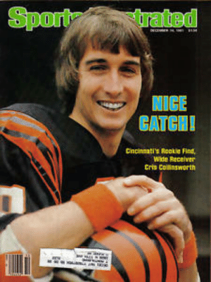 Football, Sports, and Ted: Sport  ted  NICE  We Recelver  Cris Colinsworth 1981 Sports Illustrated,Football,magazine, Chris Collinsworth ...