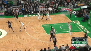 RT @ClutchPointsNBA: Kemba gets hit with two quick techs after arguing the call, and his night is over 👀 https://t.co/9K65wROVg3: Sports  BOSTON  BIGFREEZE  KEND  xfinity  Designed for Your tou  DA  Your Joucney  DGARDEN  22  10  @NBCSceltics  76  BOS 69  SA  3rd 5:59  :18 RT @ClutchPointsNBA: Kemba gets hit with two quick techs after arguing the call, and his night is over 👀 https://t.co/9K65wROVg3