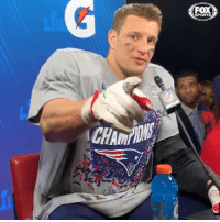 """The game today was a home game basically."" Gronk has a message to @patriots nation.: SPORTS ""The game today was a home game basically."" Gronk has a message to @patriots nation."