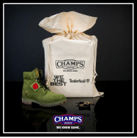 Memes, Timberland, and Boots: SPORTS  WE KNOW GAME.  BEST  Timberland  THE CHAMPS  SPORTS  WE KNOW GAME. Don't let up before the wire hits! Boots ✅ Money bag ✅ Keychain ✅ Stamp of approval ✅ SecureTheBag 💰with @djkhaled on 1-25 only at Champs!