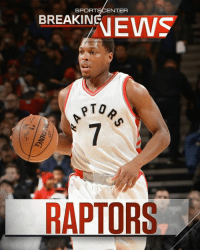 Breaking: Kyle Lowry announces he is re-signing with the Toronto Raptors on a 3-year, $100 million deal. (via The Players' Tribune)  More: http://es.pn/2sCqZ72: SPORTSCENTER  EKEWS  BREAKINEI  PTO  RAPTORS Breaking: Kyle Lowry announces he is re-signing with the Toronto Raptors on a 3-year, $100 million deal. (via The Players' Tribune)  More: http://es.pn/2sCqZ72