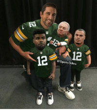 Aaron Rodgers, Friends, and Lol: @SportsJokes Lol..Aaron Rodgers be taking them to school DoubleTal and Tag Friends for a laugh lol