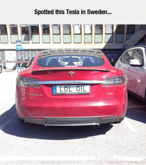 Tumblr Blog And Http Spotted This Tesla In Sweden Awesomesthesia