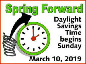 🐤🦋🥀  ~~J  🌸IF YOU LIKE MY POSTS PLEASE LIKE MY PAGE! 🌸THANK YOU!  🌸MISS J: Spring Forward  Daylight  Savings  Time  -begins  Sunday  March 10, 2019 🐤🦋🥀  ~~J  🌸IF YOU LIKE MY POSTS PLEASE LIKE MY PAGE! 🌸THANK YOU!  🌸MISS J