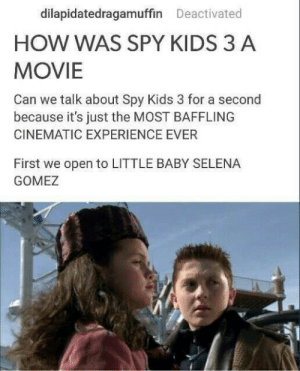 Spy kids 1 was a masterpiece. Spy kids 4 was a goddamn disgrace: Spy kids 1 was a masterpiece. Spy kids 4 was a goddamn disgrace