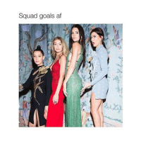 Kendall is tall as fuck: Squad goals af Kendall is tall as fuck