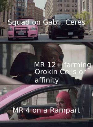 Best Place To Farm Orokin Cells 2021 Squad on Gabii Ceres G152 MR 12+ Farming Orokin Cells or Affinity