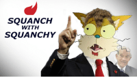 Rand Paul as Squanchy from Rick & Morty [OC]: SQUANCH  WITH  SQUANCHY Rand Paul as Squanchy from Rick & Morty [OC]