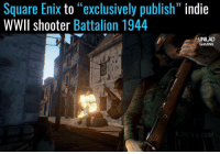 """Awesome news 🙌: Square Enix  to exclusively publish""""  indie  WWll shooter  Battalion 1944  UNILAD  GAMING Awesome news 🙌"""
