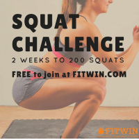 Follow @fitwinhealth 2 weeks to 200 squats – time to build that booty! Sign up today – Challenge starts February 27th Join for FREE at FITWIN.com Visit FITWIN for more challenges and great prizes. fitwin squats buildabooty booty squatchallenge fitness weightloss motivation: SQUAT  CHALLENGE  2 WEEKS TO 20 0 SQU A T S  FREE to join at FITWIN.COM Follow @fitwinhealth 2 weeks to 200 squats – time to build that booty! Sign up today – Challenge starts February 27th Join for FREE at FITWIN.com Visit FITWIN for more challenges and great prizes. fitwin squats buildabooty booty squatchallenge fitness weightloss motivation