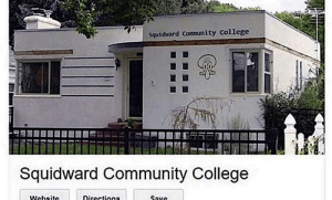 Keep your 'Harvard', I know where my future will shine brightest…: Squidrard Community College  Squidward Community College  Website  Directions  Save Keep your 'Harvard', I know where my future will shine brightest…