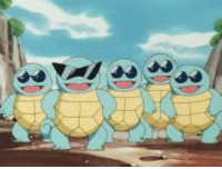 Squirtle crew.