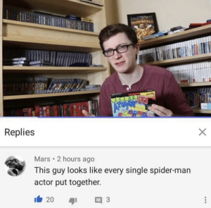 srsfunny:  Every spider-man put together: srsfunny:  Every spider-man put together