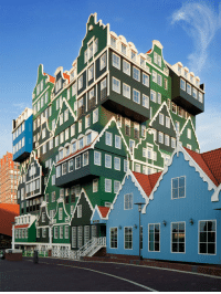 Tumblr, Amsterdam, and Blog: srsfunny:Inntel Hotel In Amsterdam