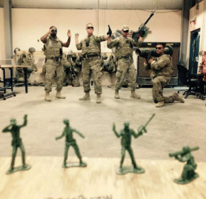 Tumblr, Best, and Blog: srsfunny:Probably The Best Deployment Photo Ever