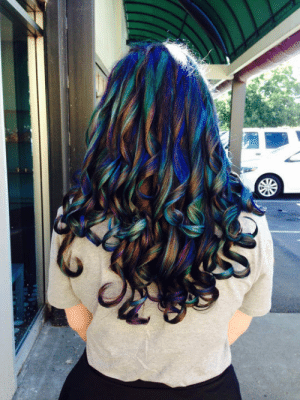 srsfunny:The Stylist Called It Oil Slick: srsfunny:The Stylist Called It Oil Slick